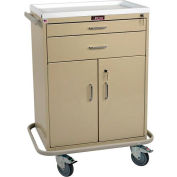 Harloff Classic Two Drawer Multi-Treatment Cart Standard Package, Sand - 6200
