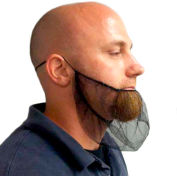 Beard Covers, Polypropylene, Blue, 1000/Case