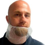 Beard Nets, Polyester, Dark Brown, 1000/Case