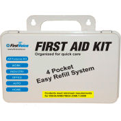 First Voice™ 10 Person ANSI Compliant Workplace First Aid Kit, Plastic Case