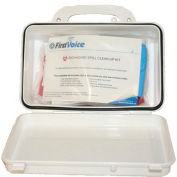 First Voice™ Basic Wall Mounted Bloodborne Pathogen Clean-Up Kit