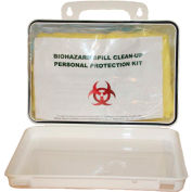 First Voice™ Deluxe Wall Mounted Bloodborne Pathogen Clean-Up Kit