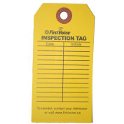 First Voice™ EID Inspection Tag, 10/Pack