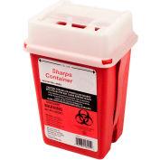 First Voice™ 1 Quart Sharps Container with OSHA Compliant Blood Borne Pathogen Training
