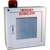 First Voice™ Small Defibrillator/AED Surface-Mounted Cabinet with Alarm & Strobe