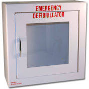 First Voice™ Small Defibrillator/AED Surface-Mounted Cabinet without Alarm