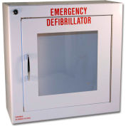 First Voice™ Large Defibrillator/AED Surface-Mounted Wall Cabinet with Alarm