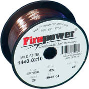 "Firepower® ER70S-6 Mild Steel Solid MIG Welding Wire - .023""- 2 Lb. Spool"