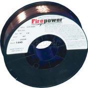 "Firepower® ER70S-6 Mild Steel Solid MIG Welding Wire - .030""- 11 Lb. Spool"