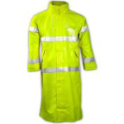 Tingley® C53122 Comfort-Brite® Coat, Fluorescent Lime, Large