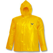 Tingley® J22107 Iron Eagle® Storm Fly Front Hooded Jacket, Gold, 6XL