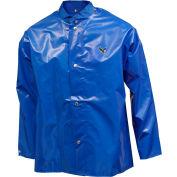 Tingley® J22201 Iron Eagle® Storm Fly Front Jacket, Blue, Hood Snaps, Large