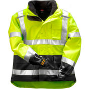 Tingley® J24172 Icon 3.1™ Jacket W/ Reflective Tape, Fluorescent Yellow/Green, 3XL