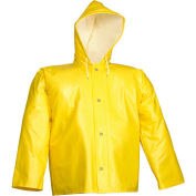 Tingley® J32107 American® Storm Fly Front Hooded Jacket, Yellow, 2XL