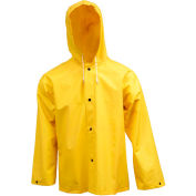 Tingley® J53107 .35mm Industrial Work Hooded Jacket, Yellow, 2XL