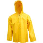 Tingley® J53107 .35mm Industrial Work Hooded Jacket, Yellow, XL