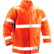 Tingley® J53129 Comfort-Brite® Jacket, Fluorescent Orange, Large
