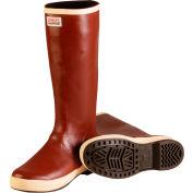 Tingley® MB926B Dipped Neoprene Snugleg Boots, Brick Red/Brown, Size 12