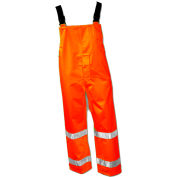 Tingley® O24129 Icon™ Snap Fly Front Overall, Fluorescent Orange, Large