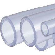 AIN Plastics PVC Plastic Tube Stock, Schedule 40, 8 in. Dia. x 96 in. L, Clear