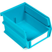 "LocBin® Wall Storage, 3-210TB, 5-3/8""L x 4-1/8""H x 3""W, Teal, (24 pc)"
