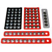 MagClip™, 72429, Assorted Magnetic Socket Storage Value Pack, 5/Pack