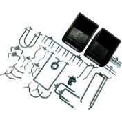 "Triton 26 pc Hook & Bin Assortment for DuraBoard or 1/8"" and 1/4"" Pegboard"