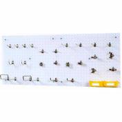 Triton 990-S DuraHook Wall Organizer (24 Hooks, 2 DuraBoards, 4 pc Bin System & Mounting HW Kit)
