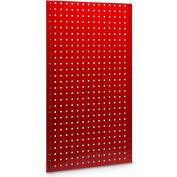 "LocBoard® Steel Pegboard, Red, 42-1/2""H X 24""W (2 PC)"