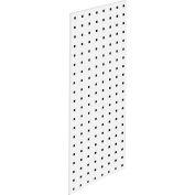 """LocBoard™ Square Hole Pegboard Strip, 30""""Wx12""""H, White Epoxy"""
