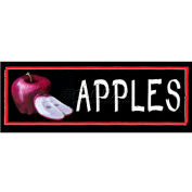 Apples Grocery Signs (3-Track Chalk Art Insert)