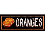 Oranges Grocery Signs (3-Track Chalk Art Insert)
