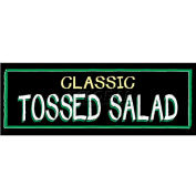 Classic Tossed Salad Grocery Signs (3-Track Chalk Art Insert)