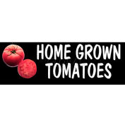 Homegrown Tomatoes Grocery Signs (3-Track Photo Real Insert)