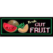 Fresh Cut Fruit Grocery Signs (3-Track Chalk Art Insert)