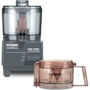Waring WCG75 - Pro Prep Chopper Grinder 3/4 Quart, 3/4 HP, High Speed, 120V