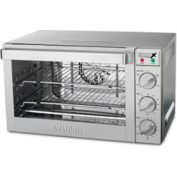 Waring WCO500X Convection Oven Half Size 3 Racks Drip Tray