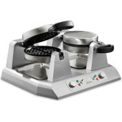 Waring WW250 Commercial Belgian Waffle Maker, Double 120V by