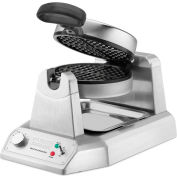 Waring WWD180 - Belgian Waffle Maker, Single, Rotary, Non-Stick, 120V