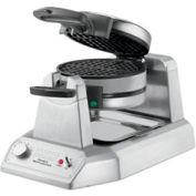 Waring WWD200 - Double Waffle Maker, Commercial, 120V