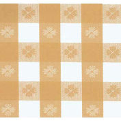 "Americo Tablecover, Pubs and Parlors, 300"" x 54"", Vinyl, Ochre - Roll"