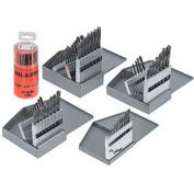 15 Pc. Import Black Oxide Jobbers Drill Set With Index