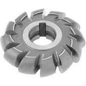 """HSS Import Convex Milling Cutter, 9/16"""" Circle DIA x 2-3/4"""" Cutter DIA x 1"""" Hole"""
