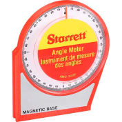 "Starrett 36080 AM-2 Angle Meter, 5 x 5"", Magnetic Base and Back"