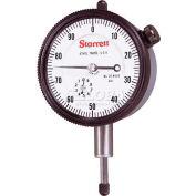 """Starrett 53293 25-441/5J Dial Indicator, .500"""" Range"""