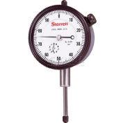"""Starrett 53295 25-441J Dial Indicator, 1.000"""" Range"""