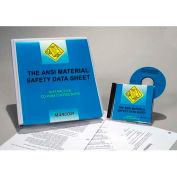 ANSI Material Safety Data Sheet CD-Rom Course