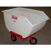 Poly-Tuf® 11 Bushel 3 Wheel Polyethylene Nursery Cart P11-3WI