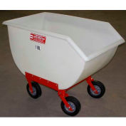 Poly-Tuf® 11 Bushel 4 Wheel Polyethylene Nursery Cart P11-4WI
