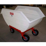 Poly-Tuf® 20 Bushel 4 Wheel Polyethylene Nursery Cart P20-4WI